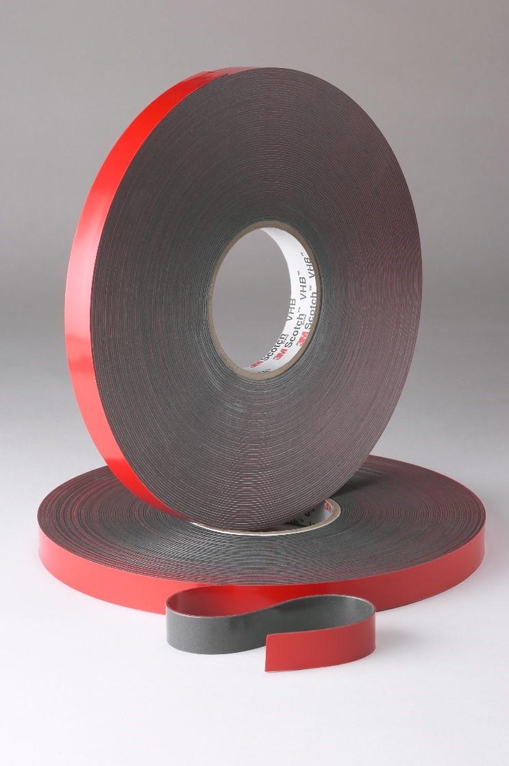 科普一下3M拳头产品VHB丙烯酸泡棉胶带
